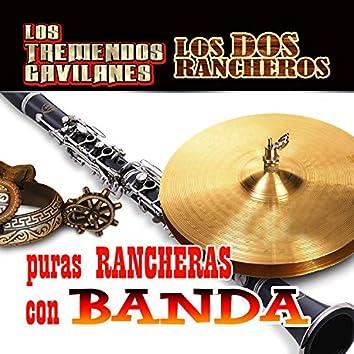 Puras Rancheras Con Banda