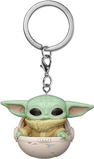 Chaveiro Funko Pocket Pop Keychain Mandalorian The Child Yoda 446