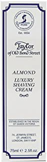 Taylor Of Old Bond Street Shaving Cream 75ml Tube Almond, 1 Pound