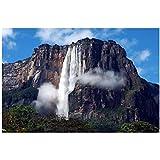 wzgsffs Angel Falls Venezuela Leinwand Malerei Poster Druck