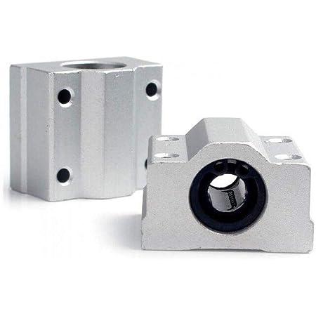 Techtonics SC16UU SCS16UU 16mm Metal Linear Bearing Block Unit For CNC