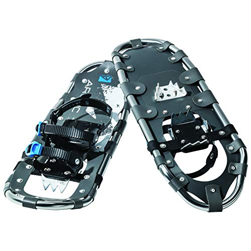Franklin Sports Snowshoes for Men and Women - Lightweight Aluminum Snowshoes for Adults - Easy to Use Adjustable Snowshoes - Carry Bag Included - 36'