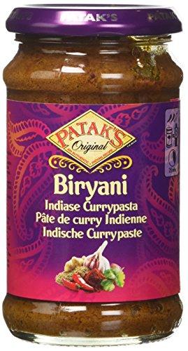 Patak'S Curry Biryani Medio-Piccante in Pasta con Coriandolo e Cumino - 283 gr