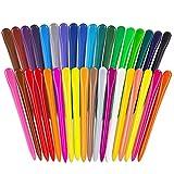 mreechan ceras de colores, Lápices plásticos y de cera,crayones para niños pequeños, 3...