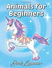 Animals for Beginners: An Adult Coloring Book with Fun, Easy, and Relaxing Coloring Pages