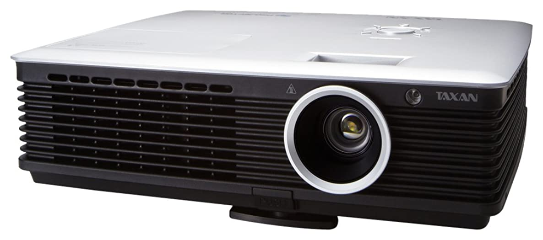 マニアシェルターパーセントTAXAN 3Dプロジェクター 3000lm XGAリアル表示 DLP方式 KG-PT401X
