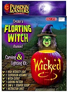Create a Floating Witch Illusion! Pumpkin Carving and Lighting Kit