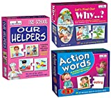 Product 1: Visual Discrimination Product 1: Early Learning Concepts Product 1: Improve ability to Ask and Answer Questions Product 2: Observation Product 2: Visual Discrimination Product 2: Identify and correctly use Verbs Product 3: Visual Discrimin...