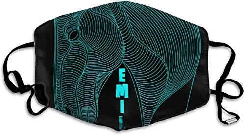 NA 3D paardenkop nacht lichtblauw gepersonaliseerde maskers maskers winddicht warme maskers waterdicht maskers kunnen bij het uitlopen opnieuw worden gebruikt