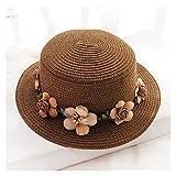 Xu Yuan Jia-Shop Mujeres Sombrero Sombrero de Verano para Mujer Sombrero de cucharón Gorra Flores Ci...