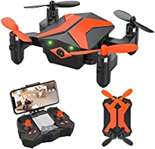 ATTOP Drone for Kids Drones with Camera for Kids & Beginners, AR Game Mode RC Mini Drone w/App Gravity/Voice Control/Trajectory Flight/Altitude Hold 360°Flip Kids Drone Foldable & Portable