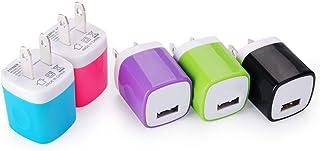 ACアダプター USB充電器 Viviber USBコンセント スマホ充電器 USB電源アダプター 携帯充電器 1ポート 1A PSE認証済 AC-USB USB急速充電器 スマートフォン対応USB出力ACアダプター Phone XS / X...