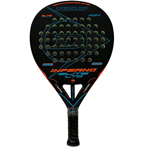 Dunlop Pala de pádel Inferno Elite LTD Orange - Blue