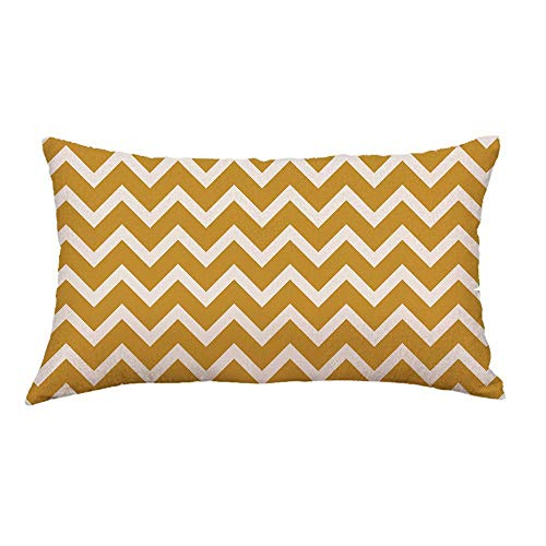 Nyfcc Pillowcase, Geometric Lines Sofa Bed Home Decoration Festival Pillow Case Cushion Cover C, Home & Garden (Color : -, Size : -)