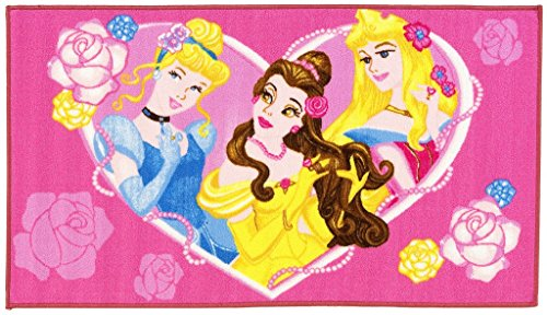 Kinder Teppich Disney Princess Heart 80x140