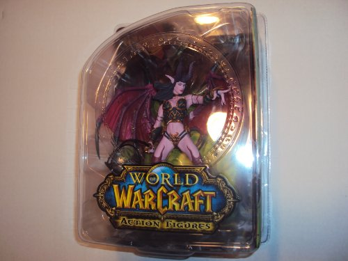 Dc Unlimited - World Of Warcraft - Serie 4 Succubus Demon Amberlash