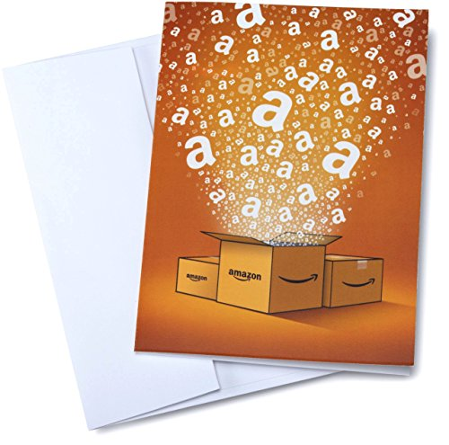 Amazon.com $750 Gift Card in a Greeting Card (Amazon Surprise Box Design)