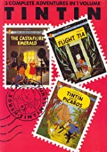 Adventures of Tintin 'Castafiore Emerald', 'Flight 714' and 'Tintin and the Picaros (Three-in-one Volume) (v. 7)