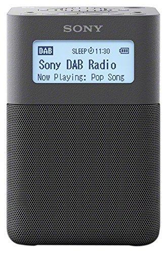 Sony XDR-V20D Radiosveglia Portatile con Speaker FM/DAB/DAB+, NFC, Bluetooth, Grigio