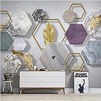 3D壁紙ポスターシンプルな大理石カスタム大規模な壁紙の壁紙3Dテレビの背景リビングルームの写真の壁紙3Dルームの壁紙-140X100cm