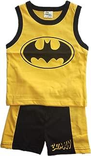 Hooyi Baby Boys Batman Clothes Sets Vest Tops Short Pant
