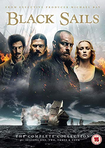 Black Sails: The Complete Collection (Seasons 1-4) [DVD]