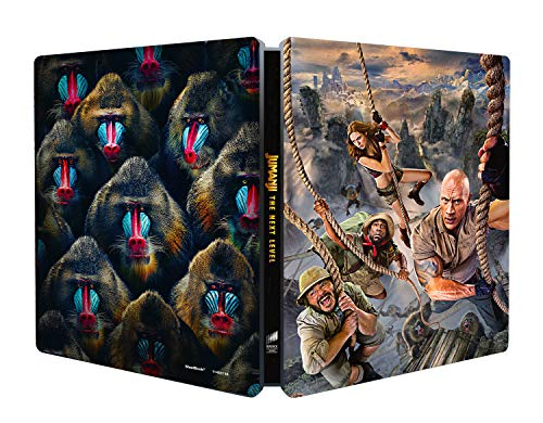 Jumanji: The Next Level - Steelbook 4K Ultra Hd (2 Blu Ray)