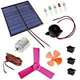 Kit4Curious 14 in 1 Solar Educational DIY Kit with Instruction