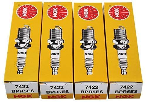Bougie d'allumage NGK BPR5ES 7422, paquet de 4