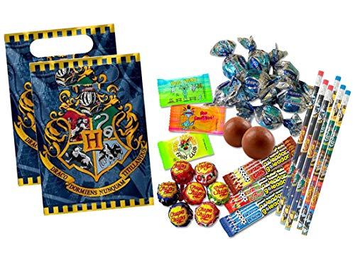 SACCHETTINI COTILLON DOLCETTI DOPO FESTA CARAMELLE REGALINI PARTY (Harry Potter)