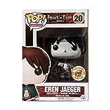 QToys Funko Pop! Attack on Titan #20 Eren Jaeger Exclusive Chibi...