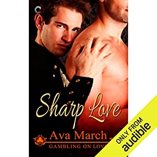 Sharp Love audiobook cover art