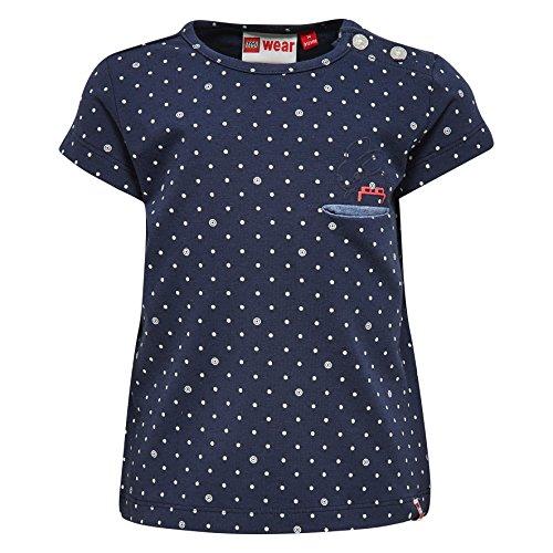 Lego Wear Lego Duplo Girl TIA 301-T-SHIRT T-Shirt, Blau (Blau (Dark Navy 589) 589), 18 Mois Bébé Fille