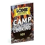 Lodge 30.48 cm / 7.57 litre / 8 quart Pre-Seasoned Cast Iron Outdoor/Camp Deep Dutch Oven