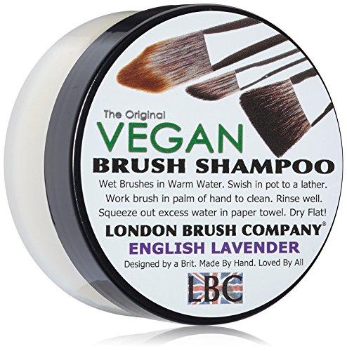 London Brush Company, shampoo vegano rinforzante al latte di cocco (indicazione ingredienti in lingua italiana non garantita)