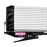 Butterfly Clip Table Tennis Net & Post Set