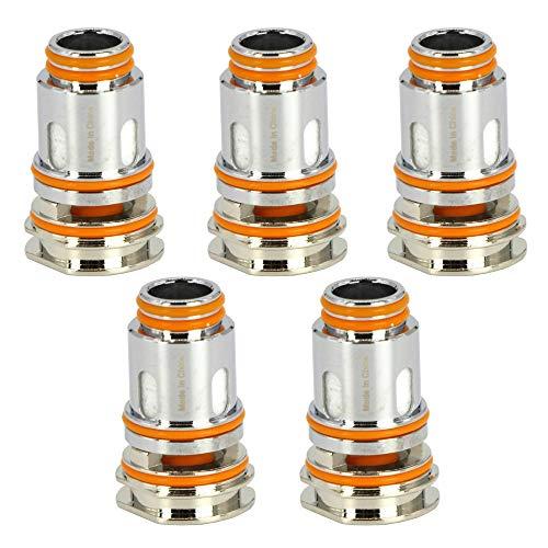 GeekVape Mesh P Coils (0,4 Ohm), DL Verdampferköpfe für Aegis Boost Pro e-Zigarette, 5 Stück