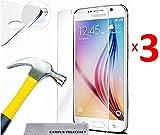 Pack 3 Vitres en verre trempé compatible pour Samsung Galaxy GRAND PRIME PLUS / Grand Prime SM-G530F/ (4G) SM-G531F/ Duos TV SM-G530BT/ G530FZ G530Y G530H G530FZ/DS
