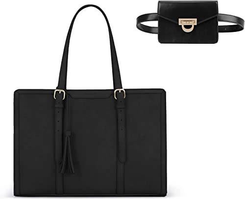 lowest ECOSUSI Laptop online Tote Bag with ECOSUSI outlet sale Upgraded Fanny Pack outlet online sale