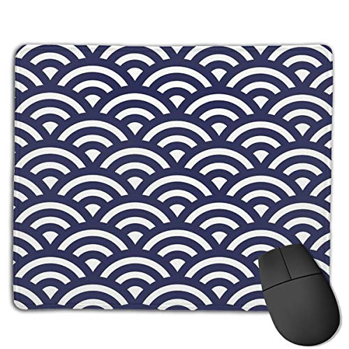 Japanese Waves Mouse Pad ,HD Bright Colors Gaming Mouse Pad Custom Design Mat