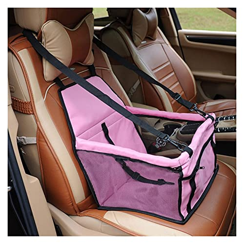 Accesorios Pet Dog Carrier Funda de Asiento de Coche Cesta Impermeable para Perros Plegable Cat Hamaca Pet Carriers Bag Car Travel Dog Bag para Perros pequeños Gatos