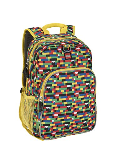 LEGO Kids Brick Wall Heritage Classic Backpack, Yellow, One Size