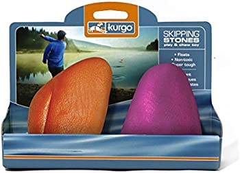 2-Pack Kurgo Fetch Skipping Stones Dog Floating Water Toys