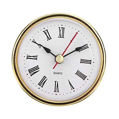 XIAOFANG Fangxia Store 10pcs / Set Reloj Parts & Accessories 2-1/2'(65mm) Reloj Movimiento de Cuarzo Inserte Número Romano para la decoración del hogar Mayitr