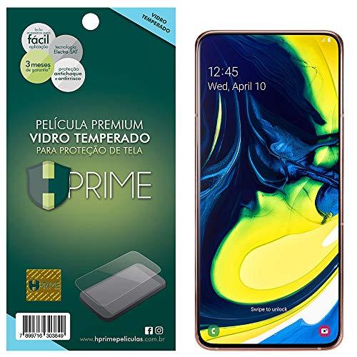 Pelicula de Vidro Temperado 9h para Samsung Galaxy A80, Hprime, Película Protetora de Tela para Celular, Transparente