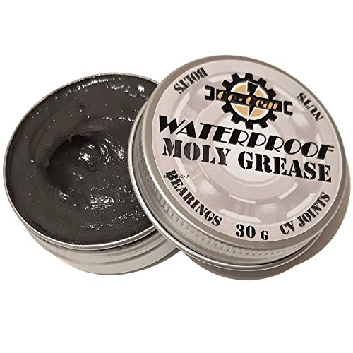 Moly Grease Heavy Duty Lubricant For Bikes Cycles Cars Bearings Molybdenum...