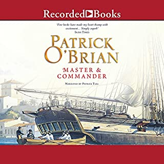 Master and Commander     Aubrey/Maturin Series, Book 1              By:                                                                                                                                 Patrick O'Brian                               Narrated by:                                                                                                                                 Patrick Tull                      Length: 16 hrs and 45 mins     4,452 ratings     Overall 4.3