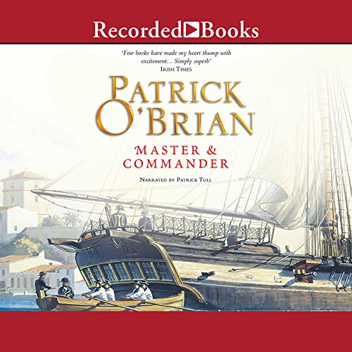 Master and Commander audiobook cover art