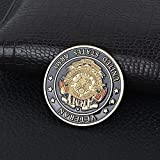 Moneda Conmemorativa de Metal en Forma de V en Relieve US Army Marine Corps Amazon Ebay Support-Gold