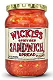 Wickles Spicy Red Sandwich Spread, 16 OZ (Pack - 1)